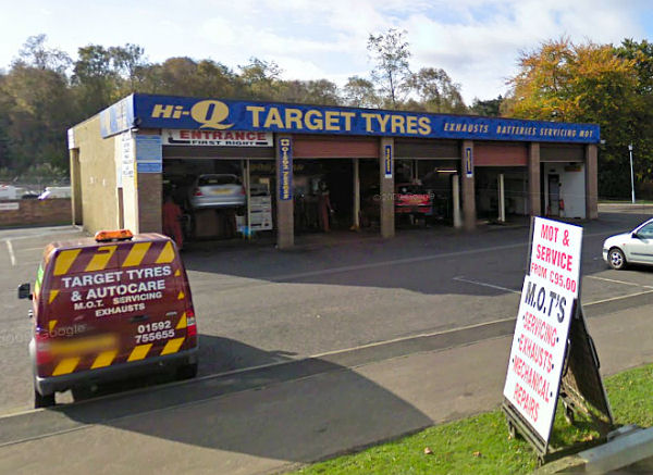 Target Tyres Glenrothes